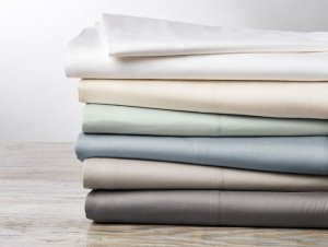 300 TC Organic Sateen
