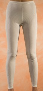 Long Underwear Pants in Organic Wool for Women