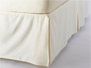 Organic Sateen Bed Skirt