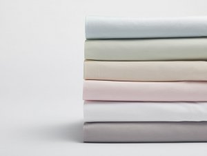 300 TC Organic Sateen Crib Sheet