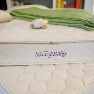 Savvy Rest Organic Baby Mattress