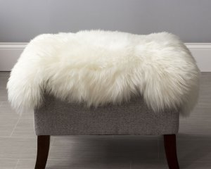 Undyed Extra Large Longwool Sheepskin