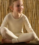Hocosa Natural Wool Silk Long Underwear