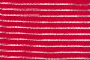 Hocosa Wool Short Sleeve in Red Stripe