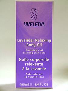 Weleda Lavender Body Oil